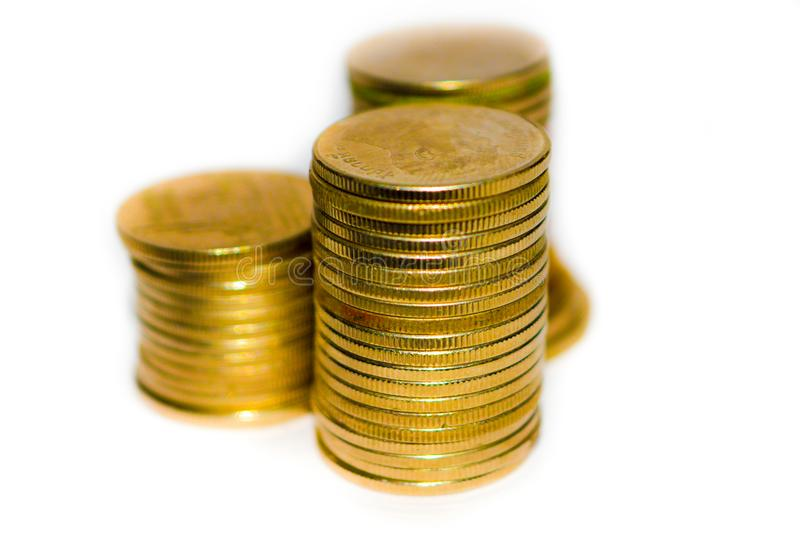 Coin gold royalty free stock images