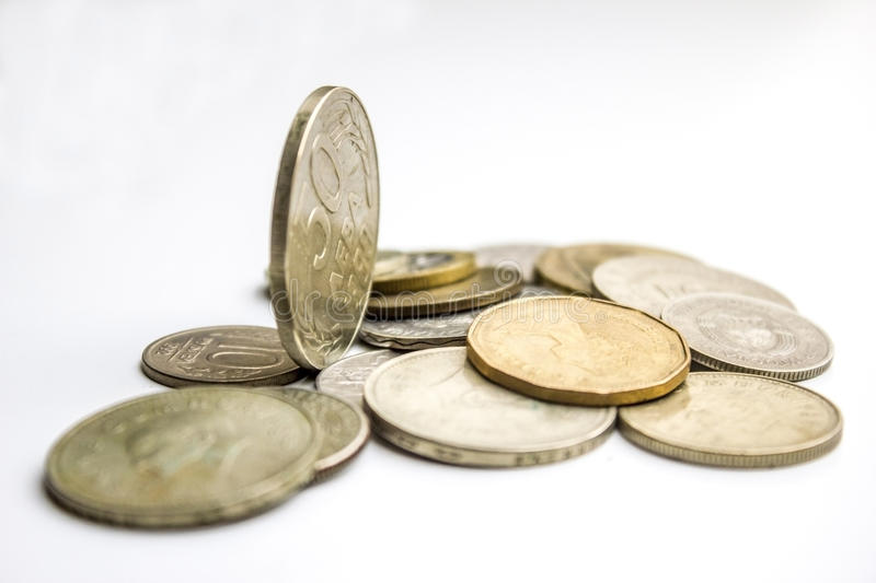 Download Coins worldwide stock photo. Image of bill, gold, financial - 36737262