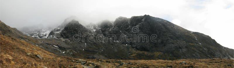coire creiche NA Σκωτία νησιών skye στοκ φωτογραφία