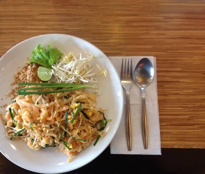 Cojín tailandés de la comida tailandés fotos de archivo