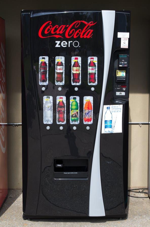 Download Coke Machine editorial stock image. Image of corporation - 21752099