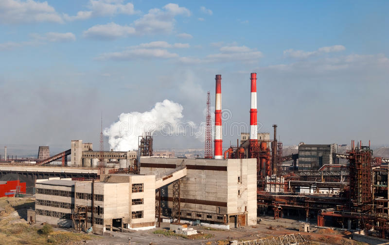 Coking plant royalty free stock images