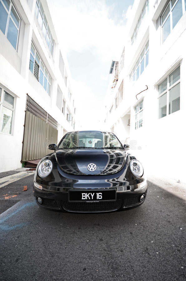 Coléoptère neuf de Volkswagen photos stock