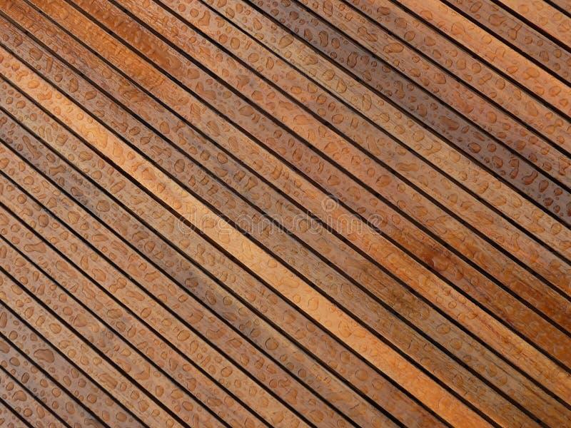 Colírio sobre a mesa de madeiras estilhaçadas imagem de stock