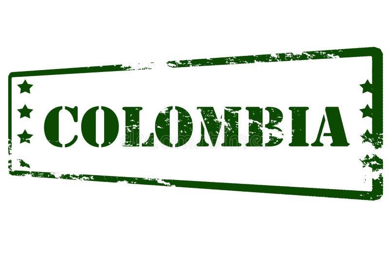 colômbia ilustração stock