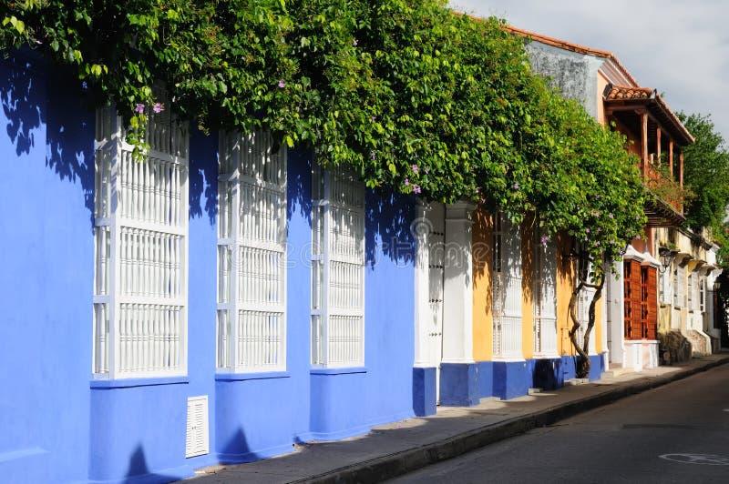 Colômbia, vista no Cartagena velho imagem de stock royalty free