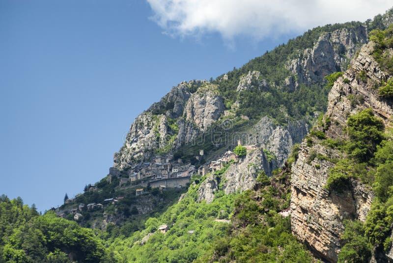 Col. de la Couillole (Franse Alpen) royalty-vrije stock fotografie