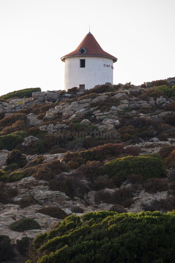Col. de la Sierra, Haute-Corse, Kaap Corse, Corsica, Hoger Corsica, Frankrijk, Europa, eiland royalty-vrije stock foto's