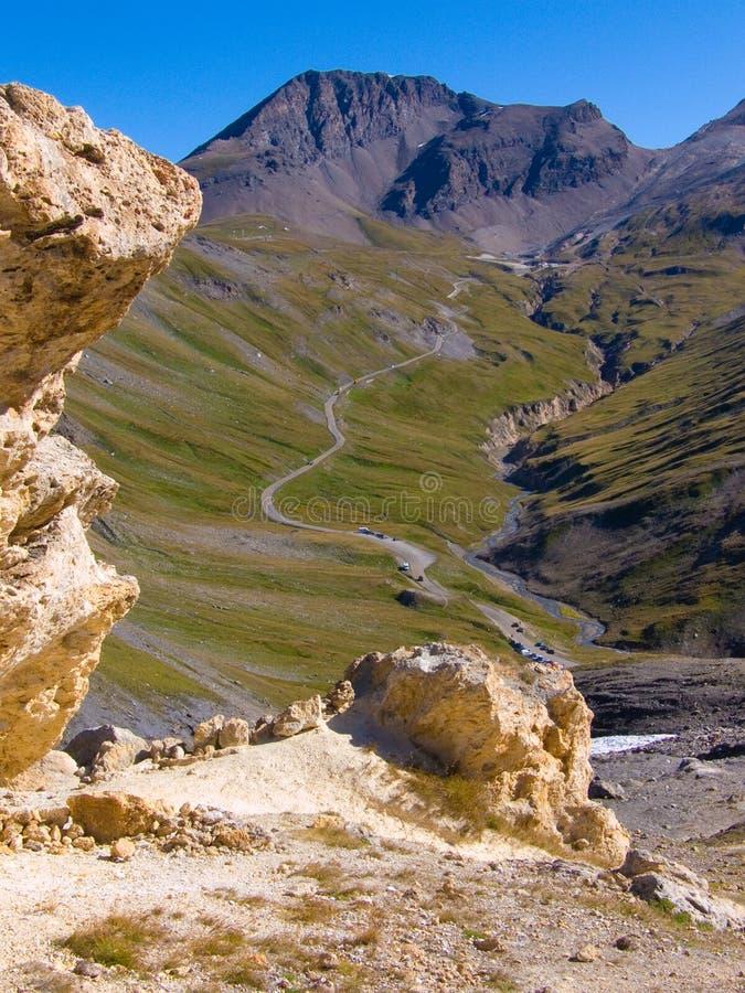 Col. des bonneval fours, vanoise, Savoie, Frankrijk royalty-vrije stock foto's