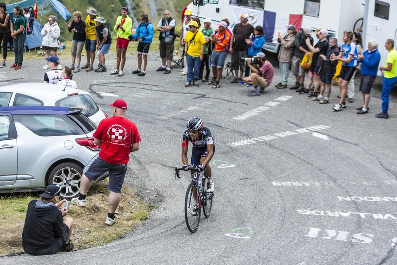 The Cyclist Jarlinson Pantano - Tour de France 2015 stock image