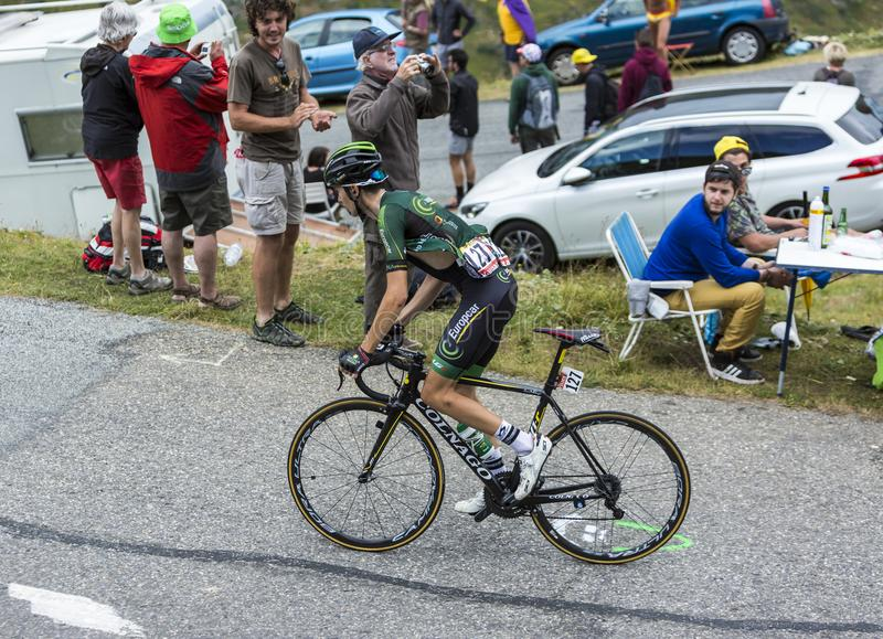 The Cyclist Romain Sicard - Tour de France 2015 royalty free stock image
