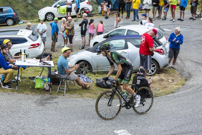 The Cyclist Romain Sicard - Tour de France 2015 royalty free stock photo