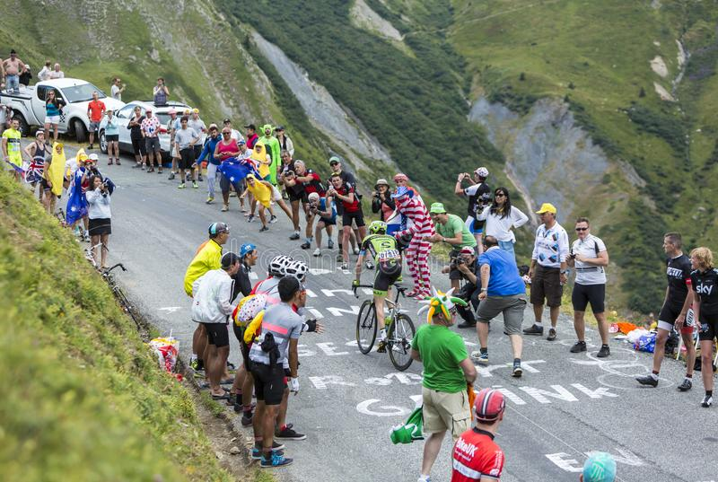 The Cyclist Dan Martin - Tour de France 2015 stock images