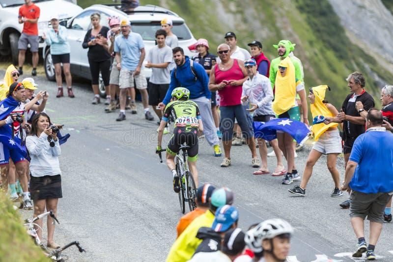 The Cyclist Dan Martin - Tour de France 2015 royalty free stock images