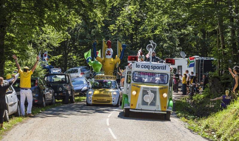 Download Le Coq Sportif Caravan editorial stock photo. Image of commerce - 30073943