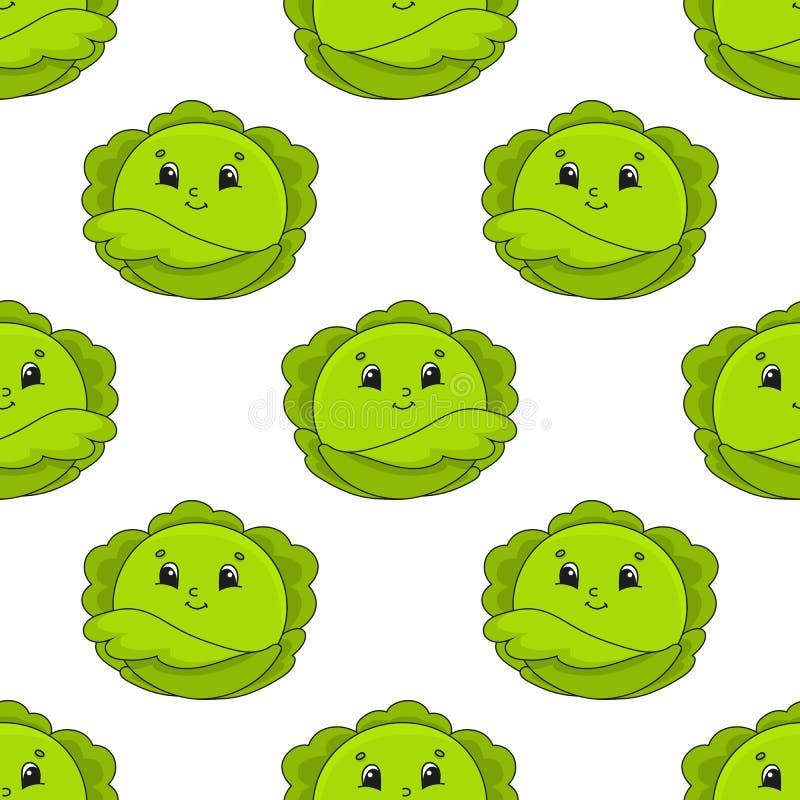 Col feliz Modelo incons?til coloreado con el personaje de dibujos animados lindo Ejemplo plano simple del vector aislado en el fo libre illustration