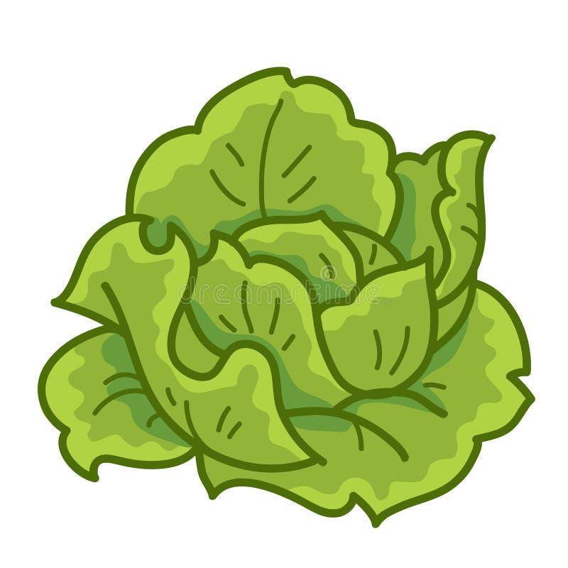 Col verde ilustración del vector