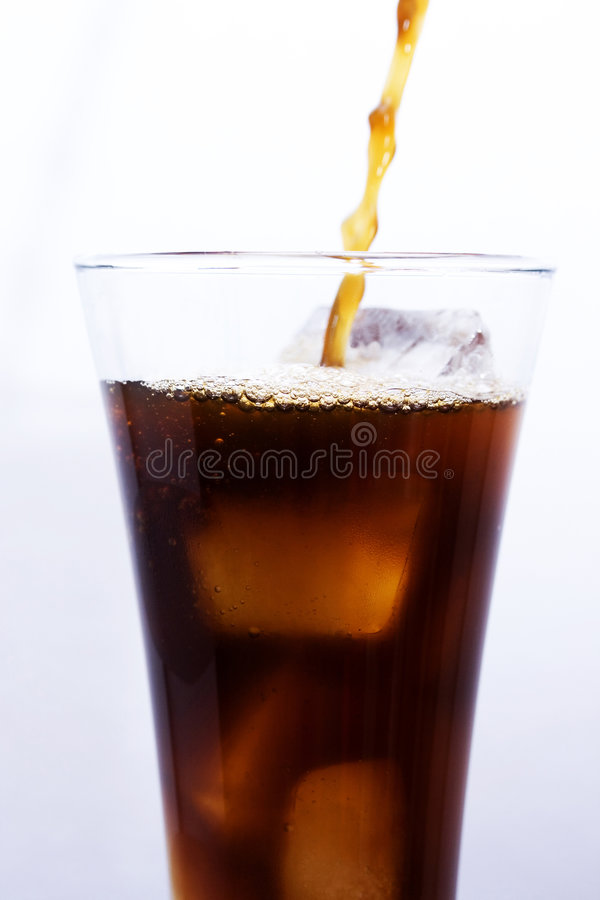 Download Cola Being Poured Royalty Free Stock Photos - Image: 2942058