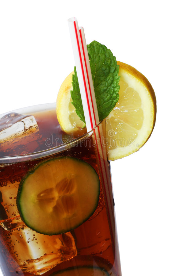 Download Cola Cocktail stock image. Image of brown, tasty, soft - 1284765