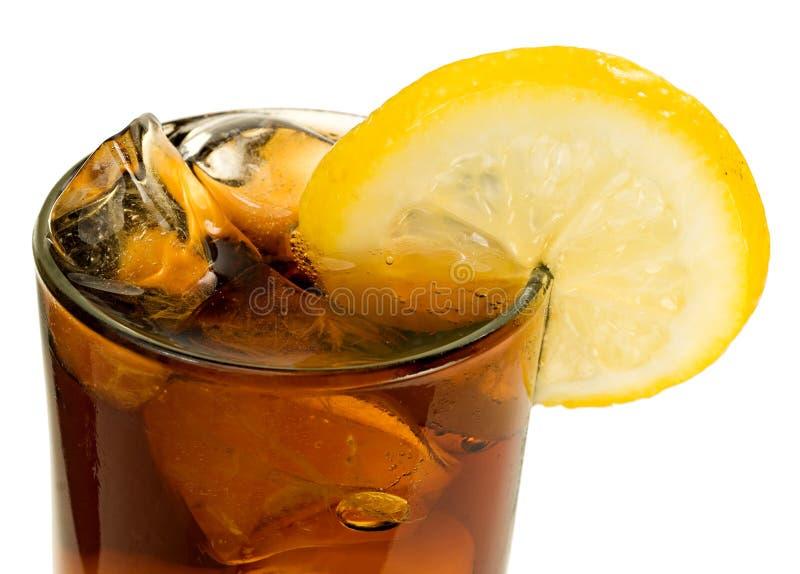 Cola Ice and Lemon stock image  Image of drink, juice - 12922077