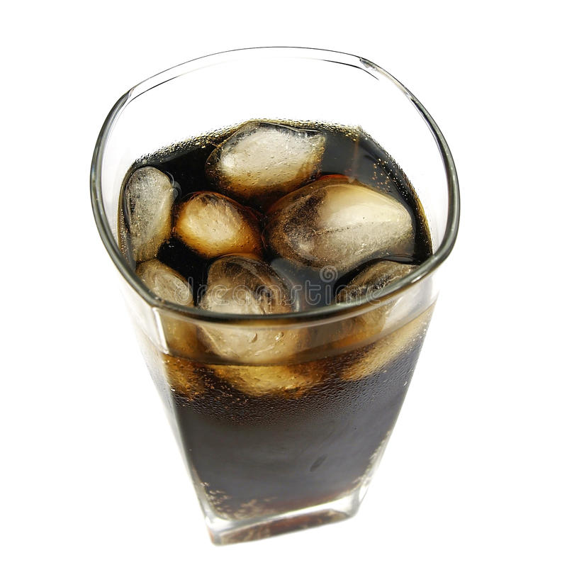 Download Cola with ice stock image. Image of traditional, background - 29736239