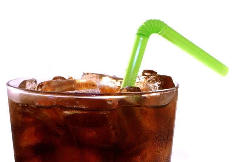 Cola isolada fotografia de stock royalty free