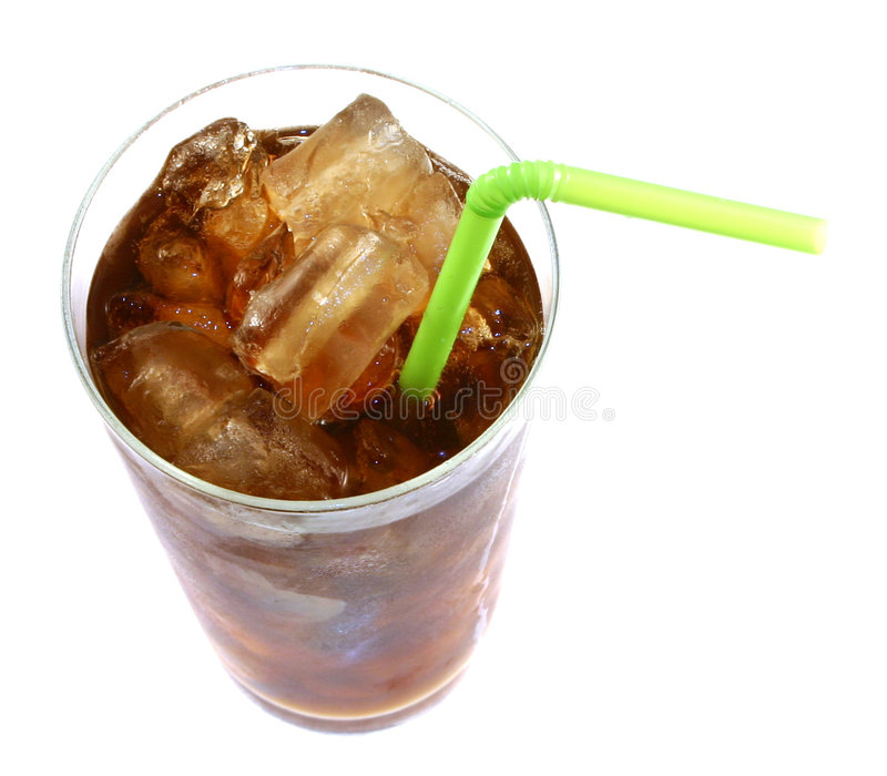 Cola isolada imagem de stock royalty free
