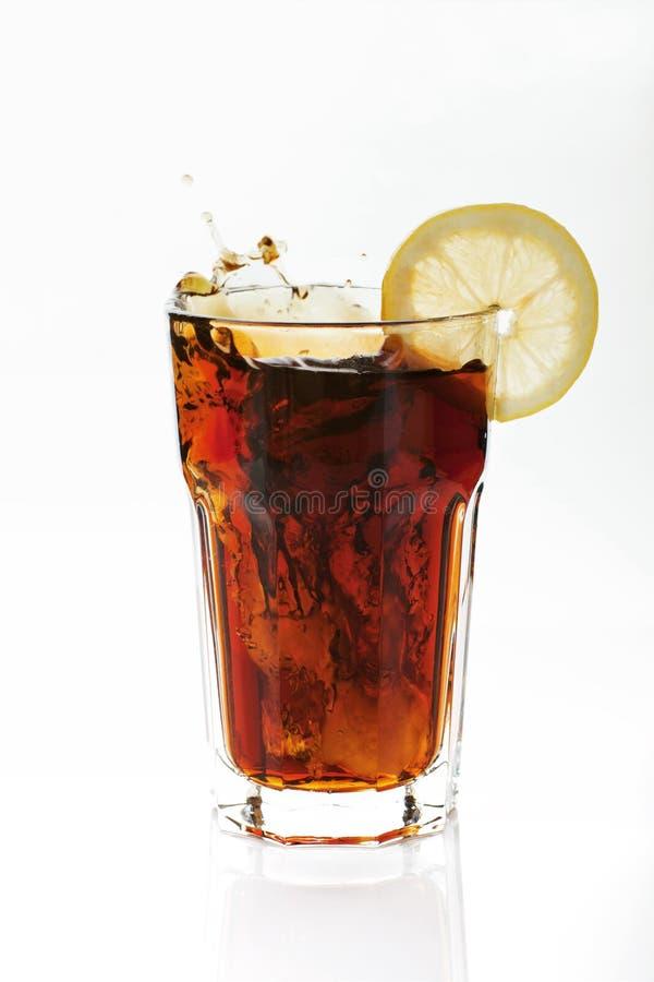 Cola isolada. imagem de stock royalty free