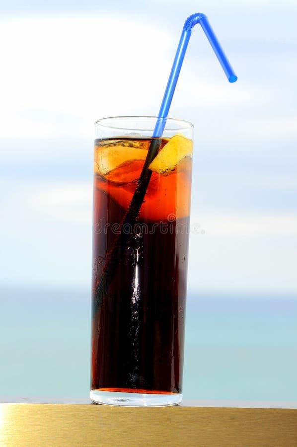 cola skära i tärningar islimefrukt arkivbilder