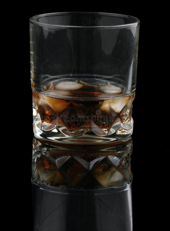 cola vaggar whisky arkivfoton