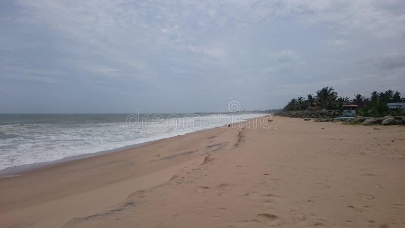 Colachel della spiaggia fotografia stock