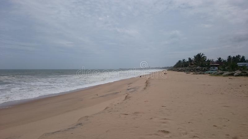 Colachel Seashore стоковая фотография
