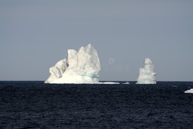 Colada de los icebergs imágenes de archivo libres de regalías