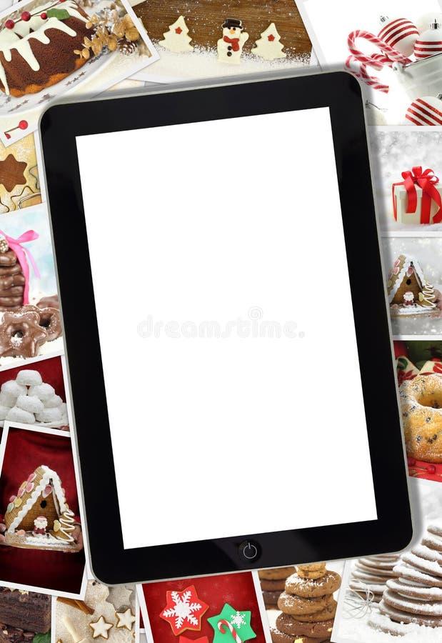 Colagem com vários feriados de inverno fotografia de stock royalty free