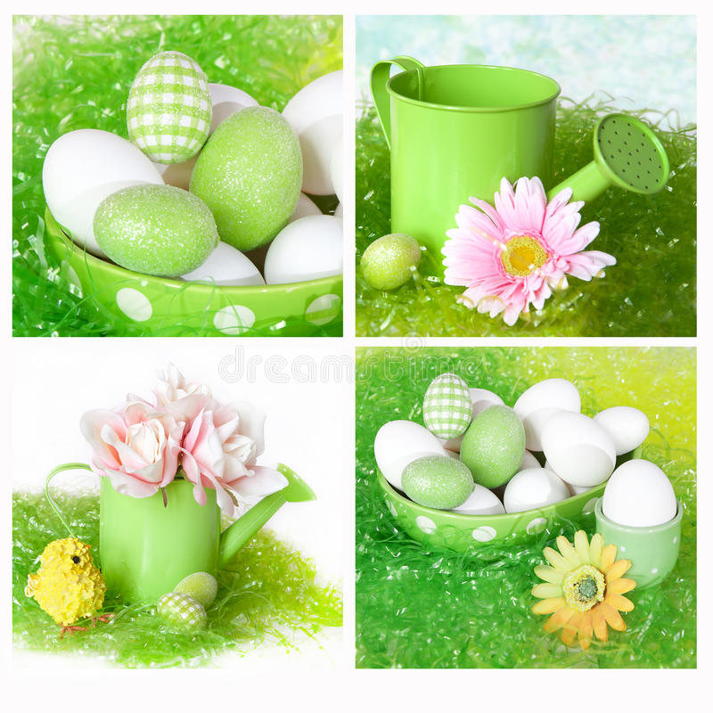 Colagem de Easter foto de stock royalty free