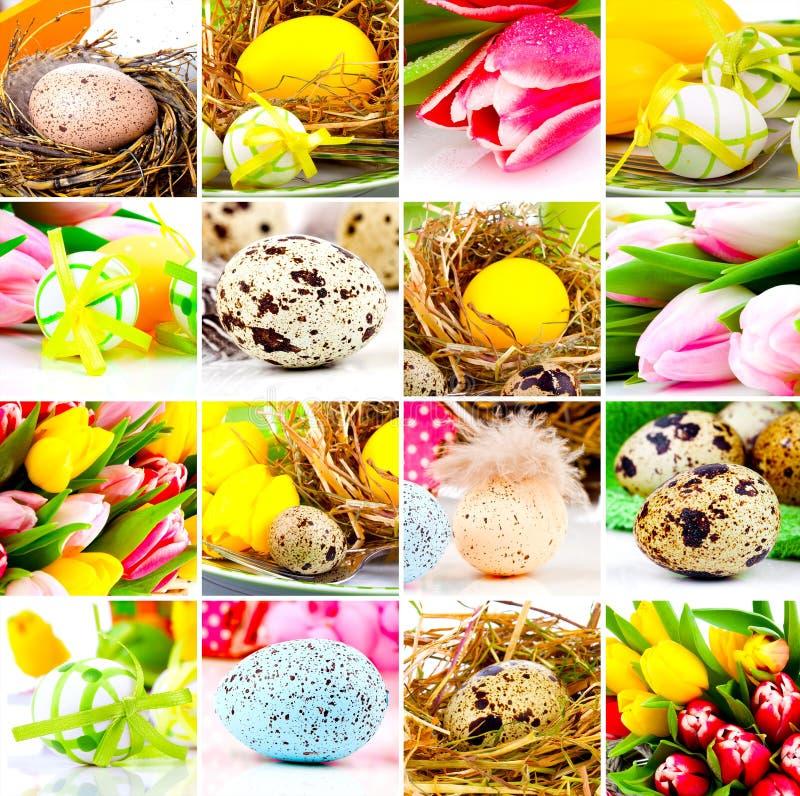 Colagem de Easter fotografia de stock royalty free