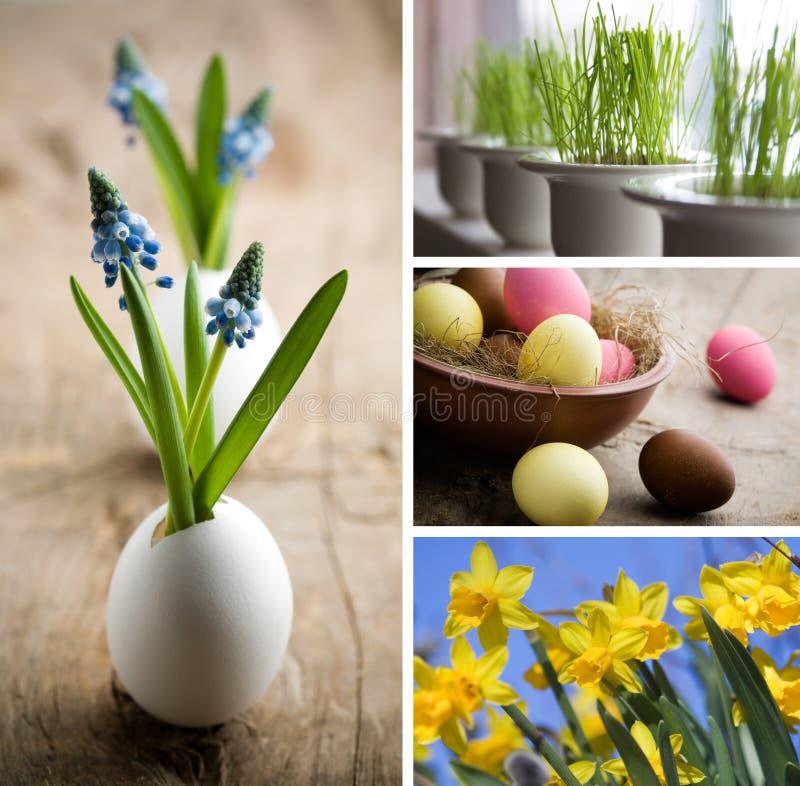 Colagem de Easter imagem de stock