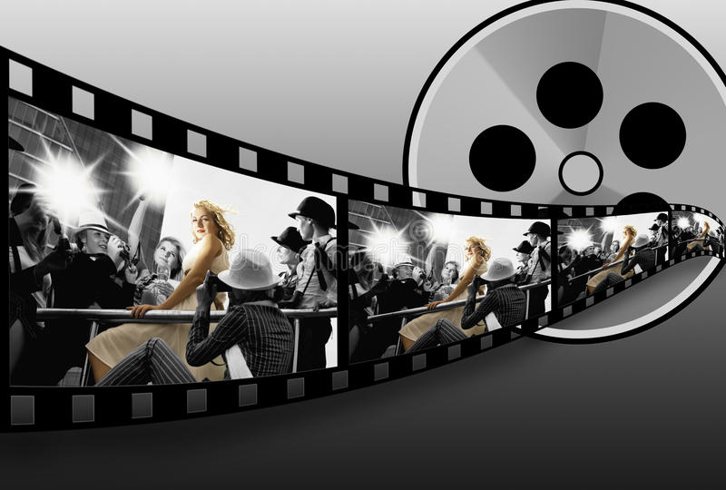 Colagem de Filmstrip
