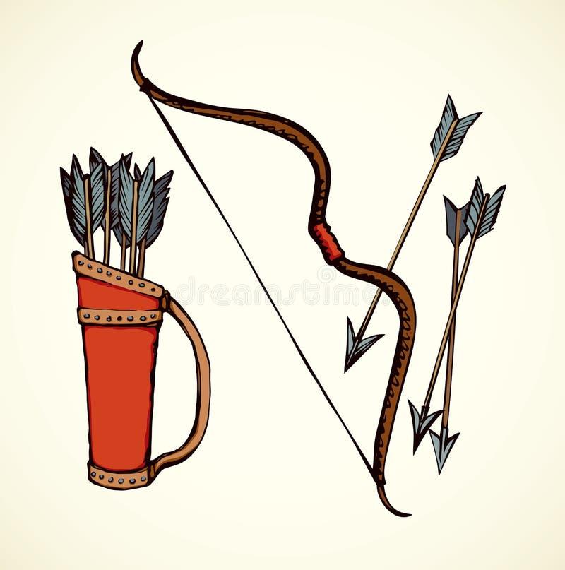 Colagem Desenho do vetor ilustração royalty free