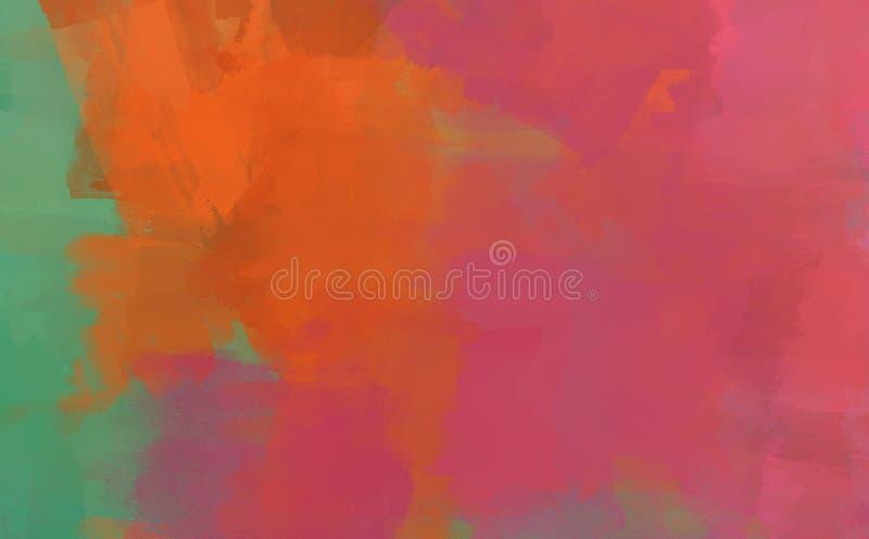 Colagem do Grunge, fundo do estilo da aquarela ilustração royalty free