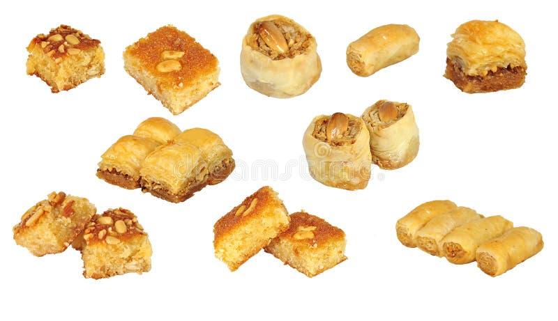 Colagem dos sweetnesses imagem de stock royalty free