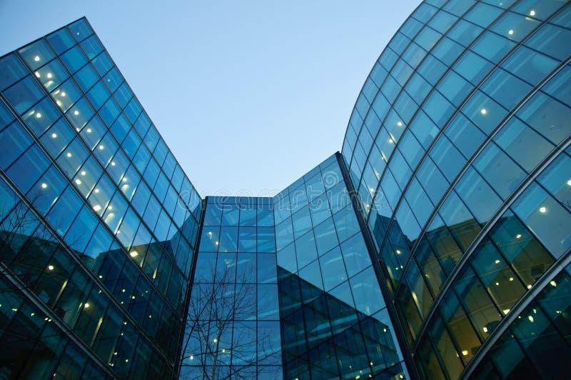 Colagem moderna dos edifícios imagens de stock royalty free