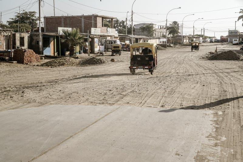 Colan, Peru obraz stock