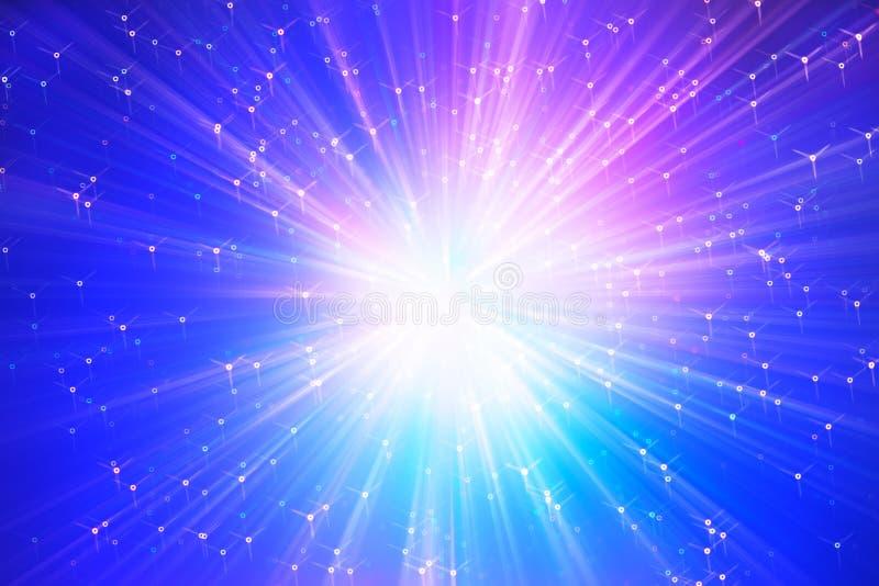 Colapso do fundo da ilustração da galáxia da supernova fotografia de stock