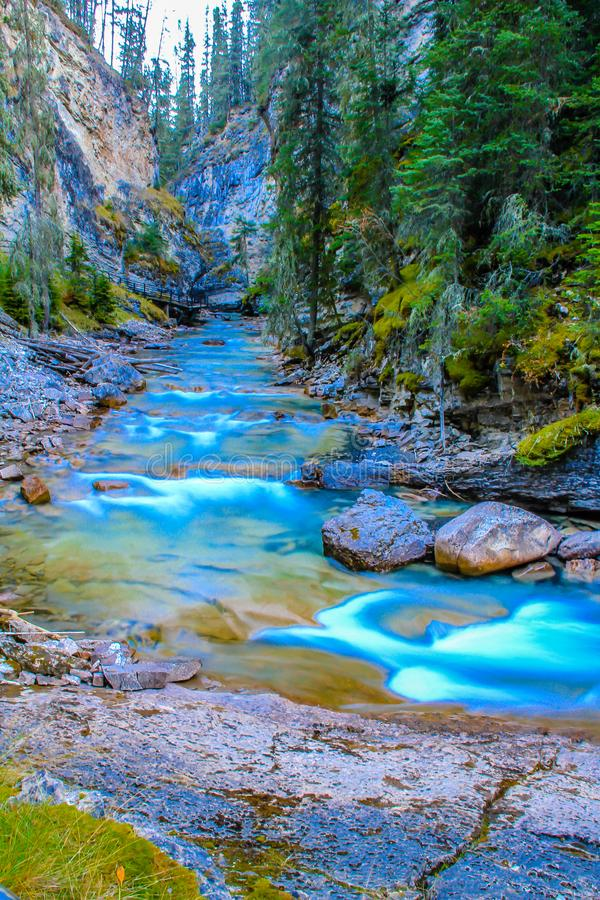 Colato da Johnston Falls fotografia stock