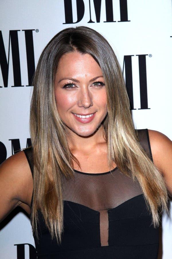 Colbie Caillat aux récompenses de bruit de BMI, hôtel de Beverly Wilshire, Beverly Hills, CA 05-15-12 images libres de droits