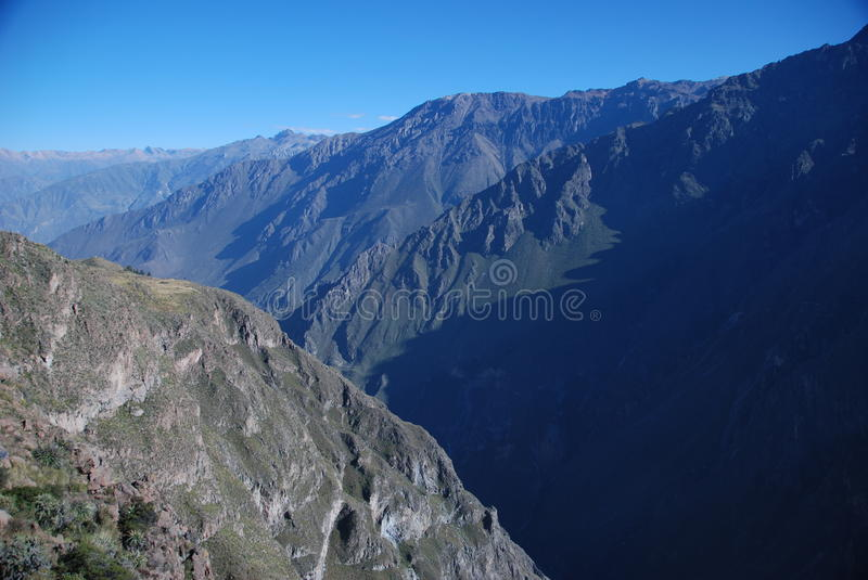 Colca Canyon of Peru stock image