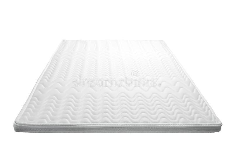 colchão branco confortável foto de stock royalty free