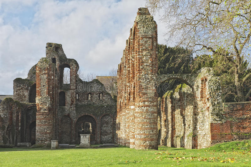 Colchester小修道院2 免版税库存照片