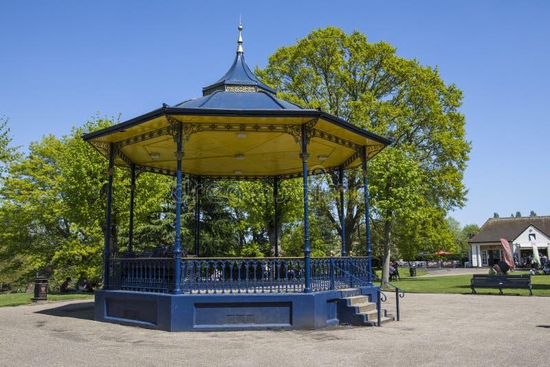Colchester kasztelu park w Essex zdjęcie stock
